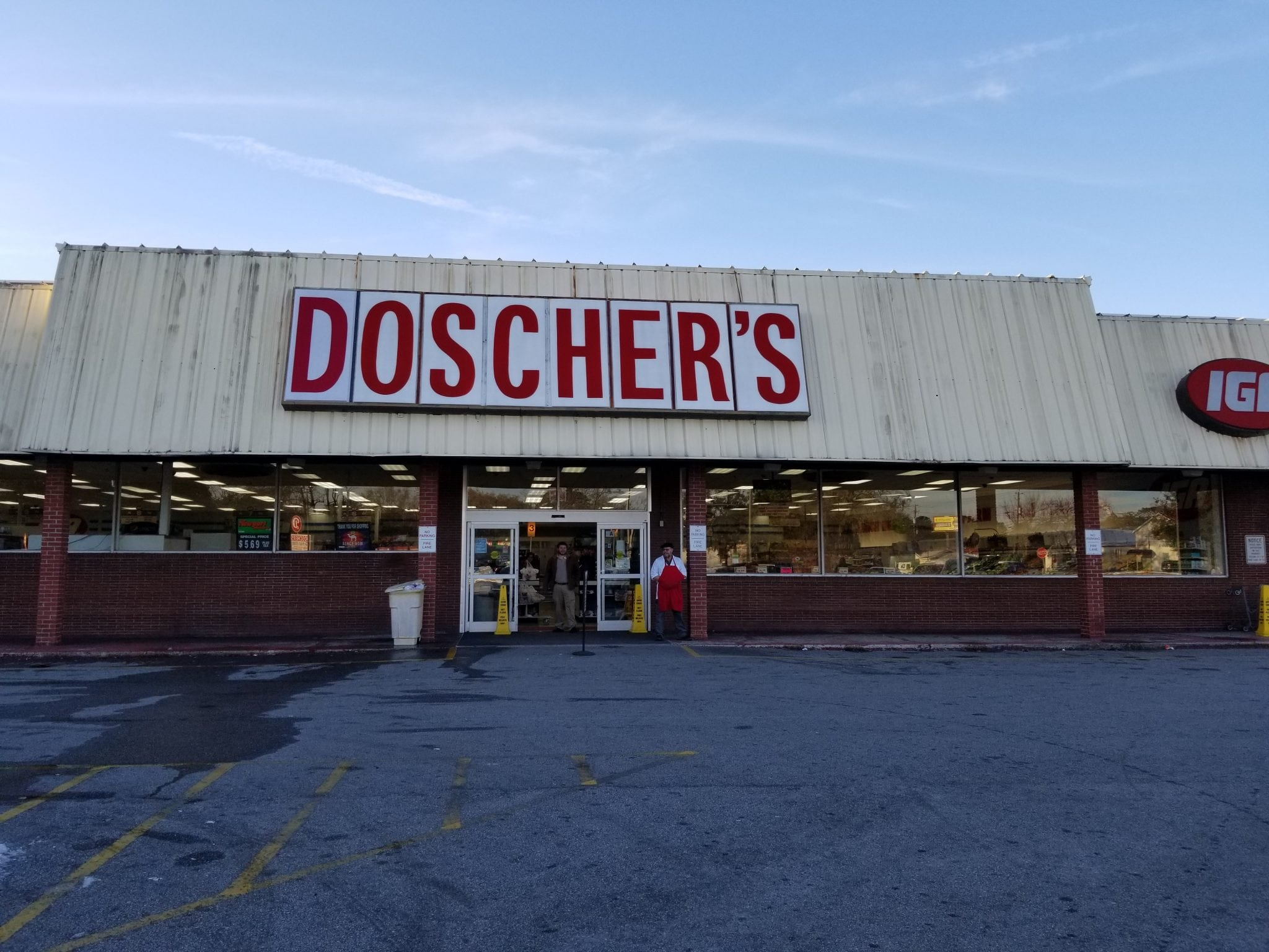 Doschers Grocery City Of Hanahan