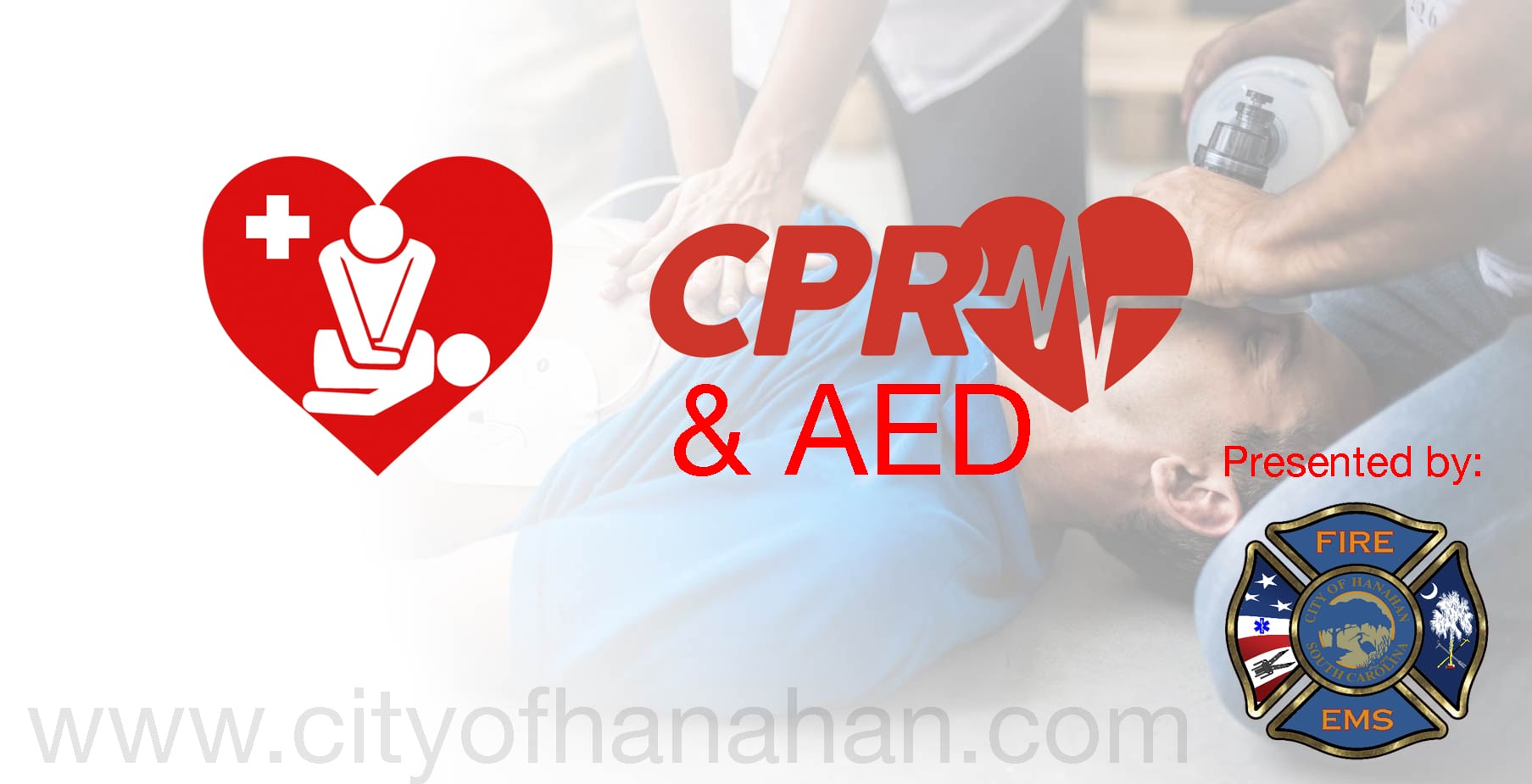 Cpr Aed Certification City Of Hanahan