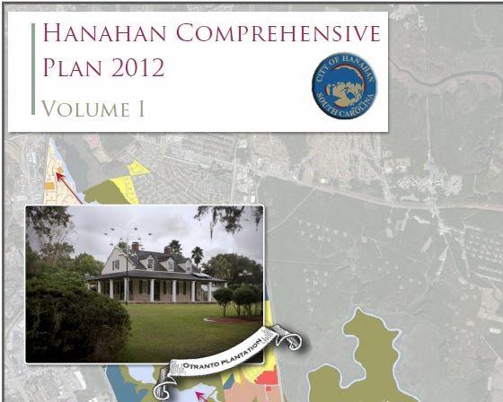 Hanahan Comprehensive Plan 2012 Vol I & II